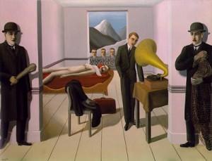 René Magritte - L'assassin menacé (1927) -(c) SABAM