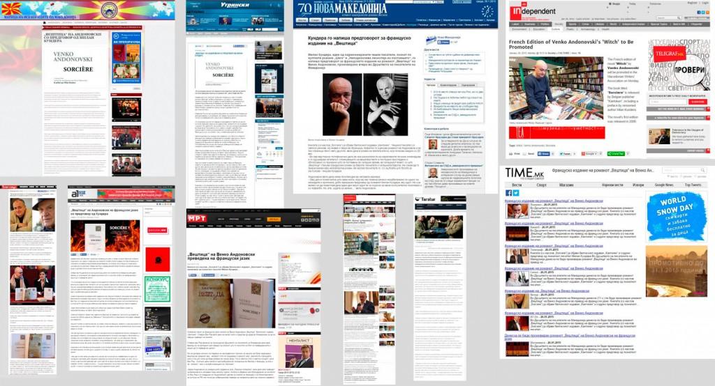 Revue de presse online Skopje 27/01/2015