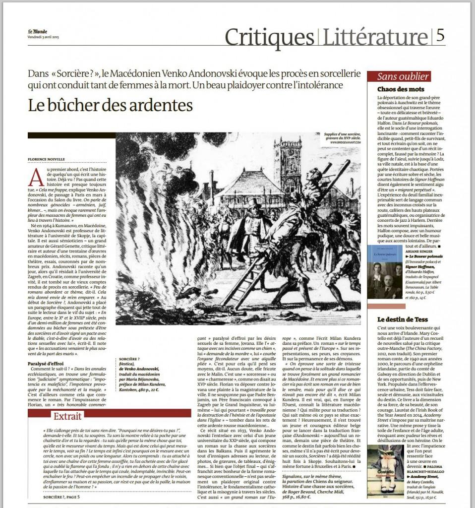 20150402 Florence Noiville dans Le Monde des Livres p.5